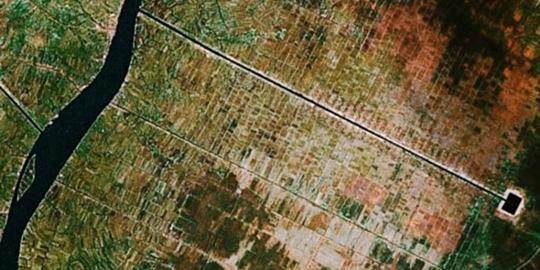 Indonesia quemada desde Google Earth