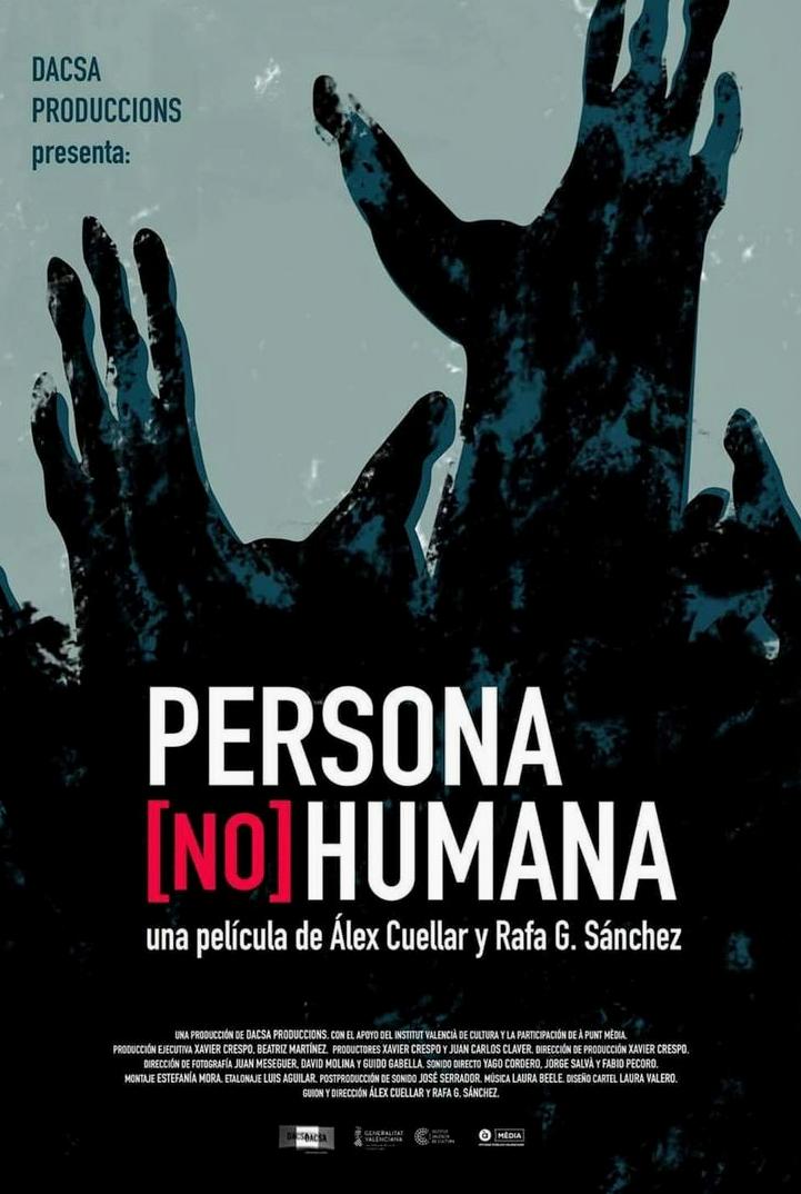 """Película documental """"Personas no Humanas""""."""