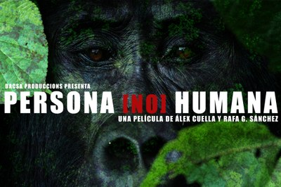 """Pronto estará en las pantallas de cine la película """"Persona [no] Humana"""" en la que Proyecto Gran Simio ha tenido una gran participación."""