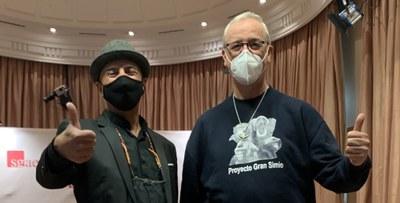 """""""Premios bonobo"""", entrega una donación de 1.000 euros al proyecto gran simio  para el Proyecto Mali"""