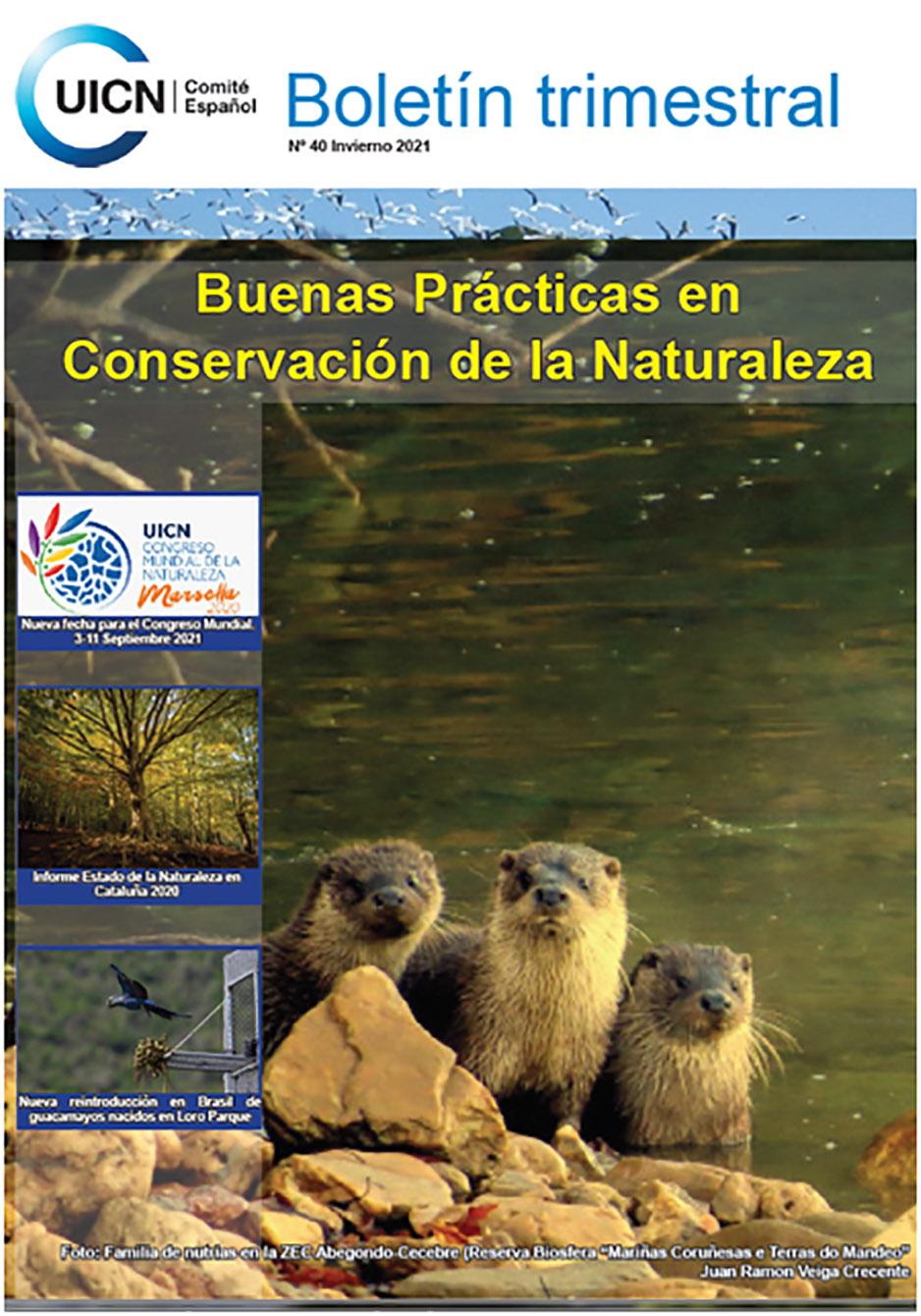 BOLETÍN DE LA UICN INVIERNO - 2021