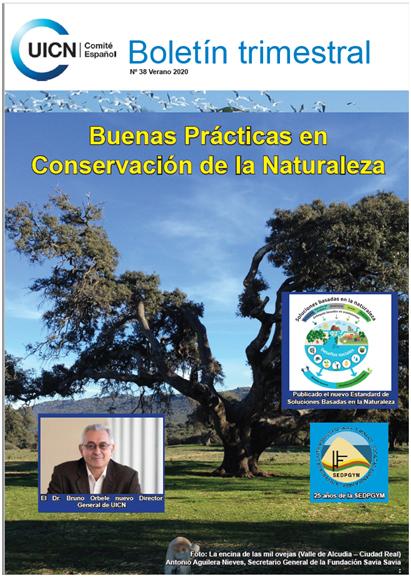 Boletín trimestral Nº 38 de la UICN - Verano 2020