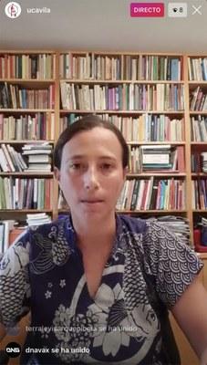 CHARLA DE ROSER GARÍ DELEGADA DEL PROYECTO GRAN SIMIO EN ASIA Y MIEMBRO DE LA JUNTA DIRECTIVA SOBRE LOS MERCADOS HÚMEDOS Y EL TRÁFICO DE ESPECIES.