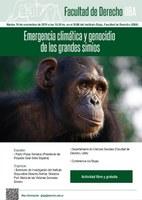 EMERGENCIA CLIMÁTICA Y GENOCIDIO DE LOS GRANDES SIMIOS
