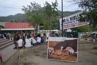 LA COMUNIAD DE TAGANGA EN COLOMBIA, AGRADECE  EL APOYO DEL PROYECTO GRAN SIMIO EN SU LUCHA CONTRA LA CONSTRUCCIÓN DE UN PUERTO PARA CARGA Y DESCARGA DE ACEITE DE PALMA.