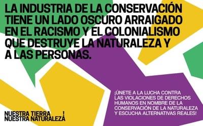 """Proyecto Gran Simio apoya la campaña lanzada por Survival """"Nuestra Tierra. Nuestra Naturaleza""""."""