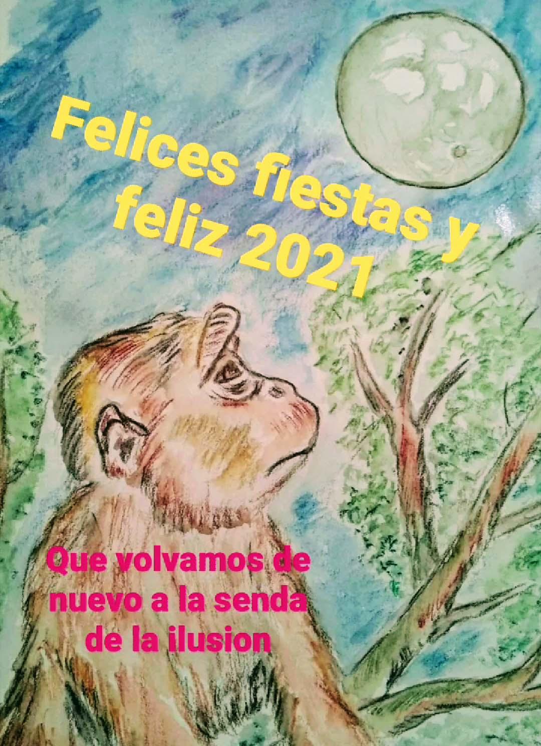 Proyecto Gran Simio te desea Felices Fiestas.....