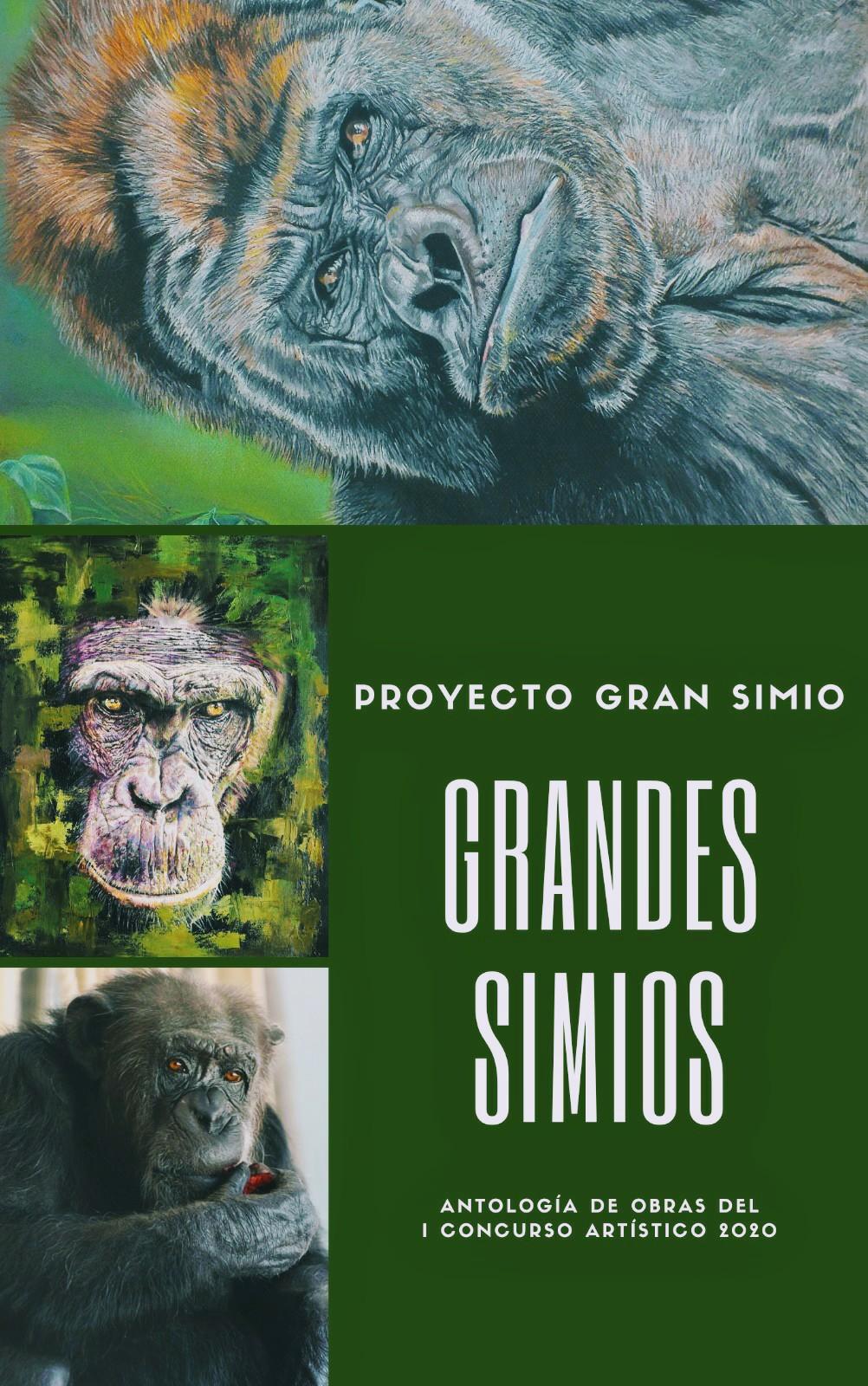 """Publicado el libro:"""" Grandes Simios: Antología de obras del I concurso artístico 2020"""" ."""