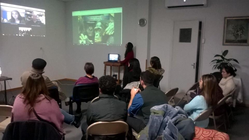 VIDEOCONFERENCIA INTERNACIONAL DEL PROYECTO GRAN SIMIO