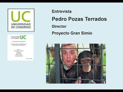 Pedro Pozas en la Universidad de Mendoza